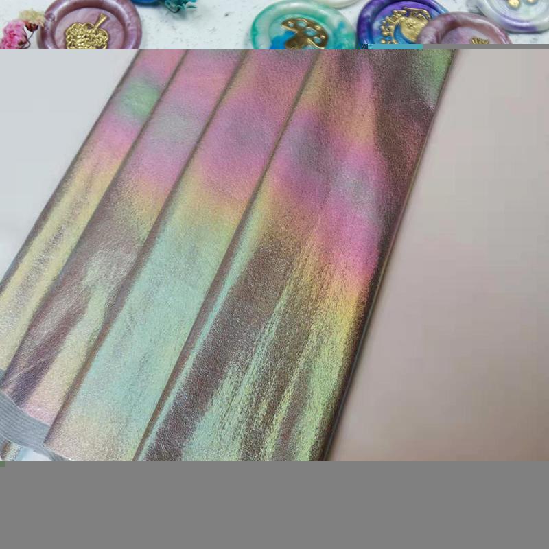 手提袋幻彩彩虹小爆裂哪里有賣_名尚皮革_軟包_流光_背包_燙金布