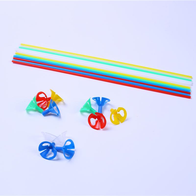 拖桿氣球周邊配件供應商_飄紅商貿_浪漫裝飾_掛件_寶寶生日布置