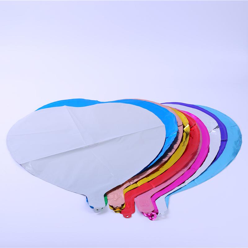 心形_氫氣鋁膜氣球價格_飄紅商貿