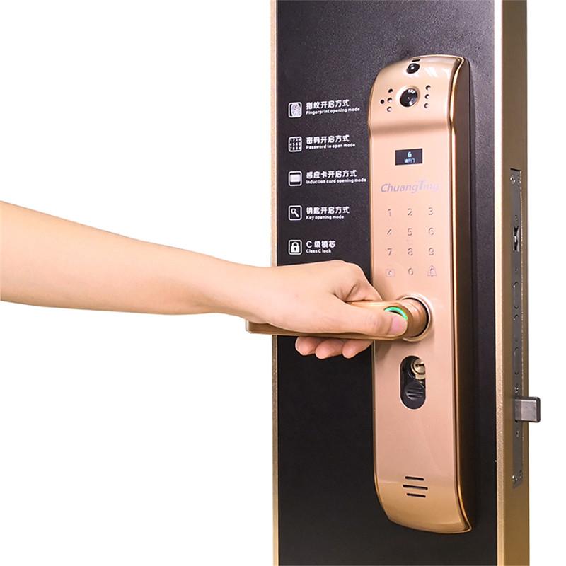 居室_全铜智能锁生产厂家销售_创听电子