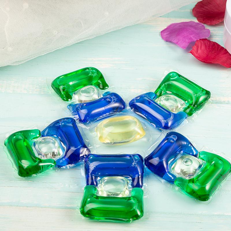超濃縮三合一洗衣凝珠生產銷售_伊萊生物_遇水即溶_濃縮_花香