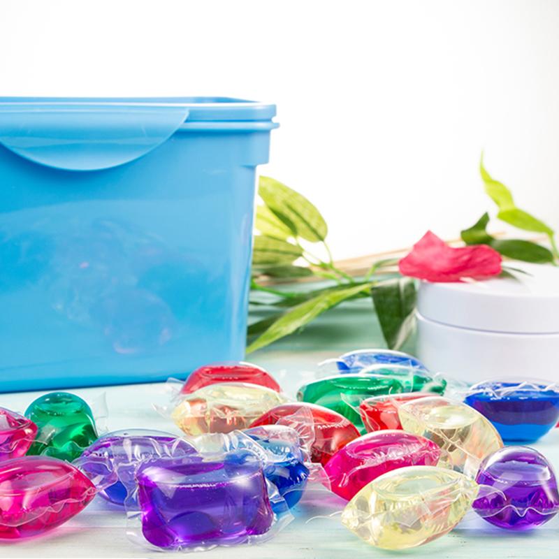水溶膜_花香方形洗衣凝珠生產供應_伊萊生物