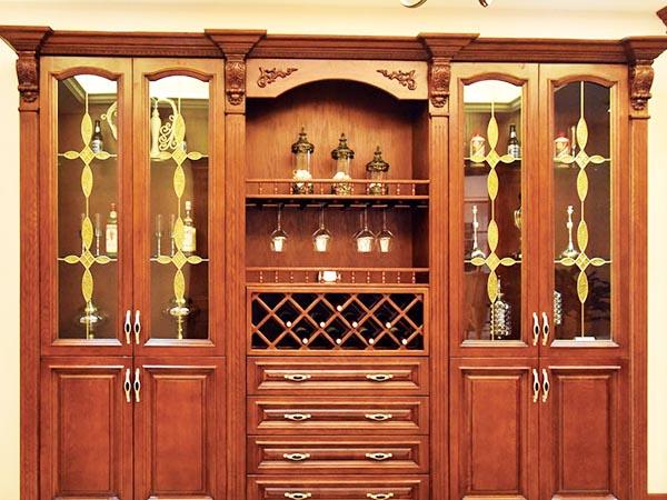 实木酒柜SL-3004
