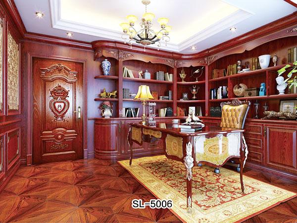 实木书柜SL-5006