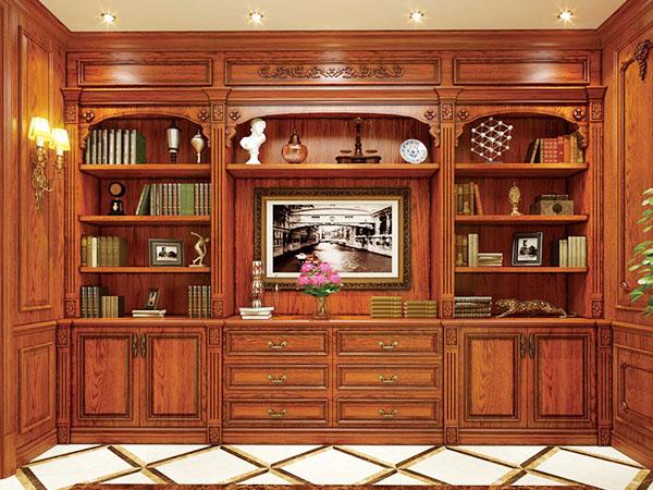 实木书柜SL-5007