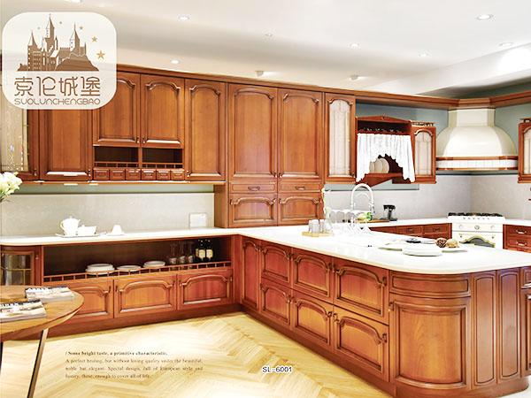 实木橱柜SL-6001