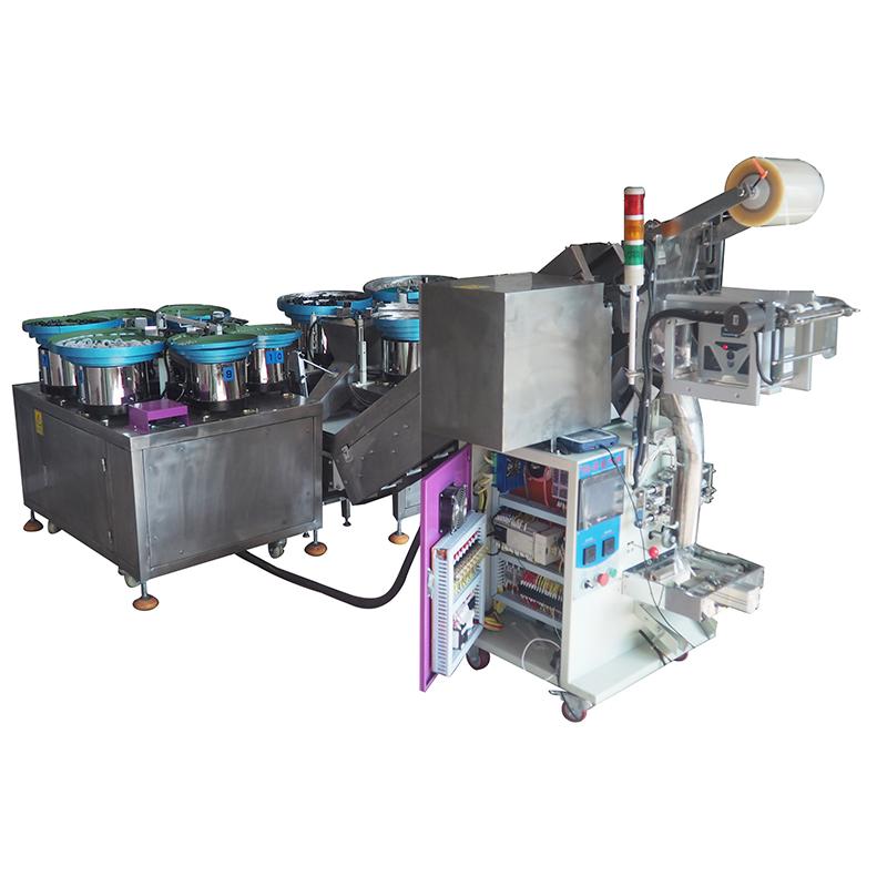 文具厂五金配件包装机可产多少包_浩龙科技_大型_食品厂_电子厂