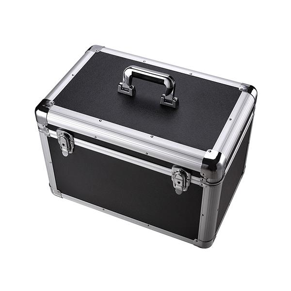 大號銀黑色工具箱包