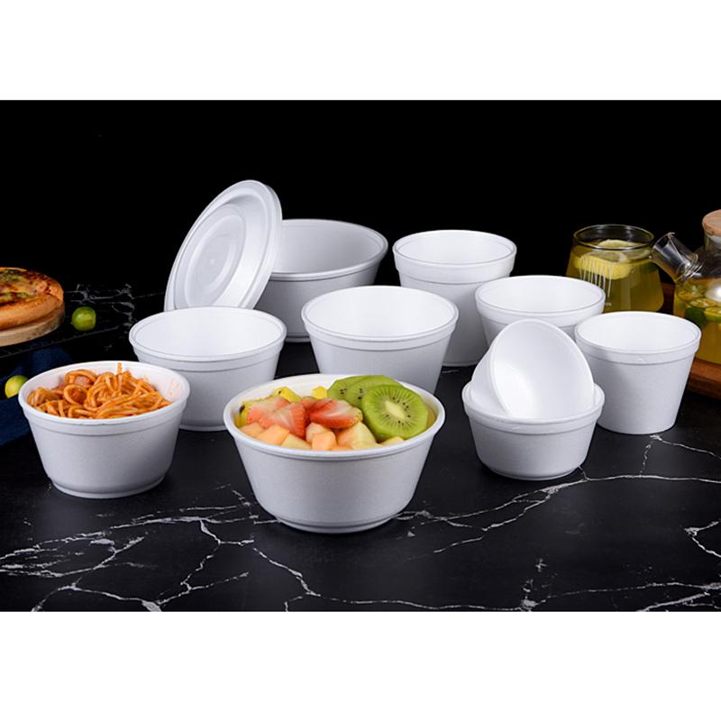 太原包装一次性泡沫碗加工厂家_和成利包装_外卖_包装_用餐_饭盒