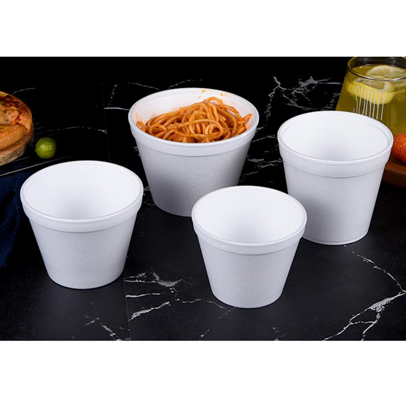 燒烤一次性泡沫碗供應廠家_和成利包裝_加厚_環保飯盒_便當_通用