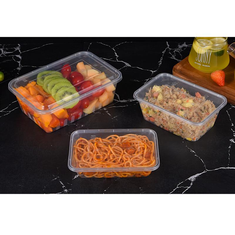 和成利包裝_燒烤_透明餐具一次性打包方盒加工定制