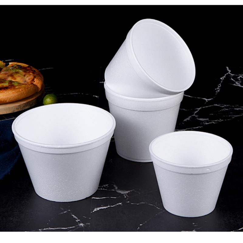 快餐一次性泡沫碗哪里有買_和成利包裝_飯盒_防塵_500ml