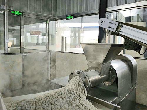 蒸粒工艺米粉生产线,蒸粒工艺米粉设备
