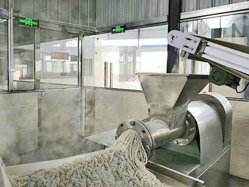 半干粉生产线,米粉设备,米粉生产线,米粉机