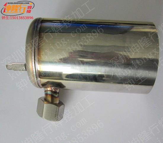 行供应不锈钢水桶氩焊加工