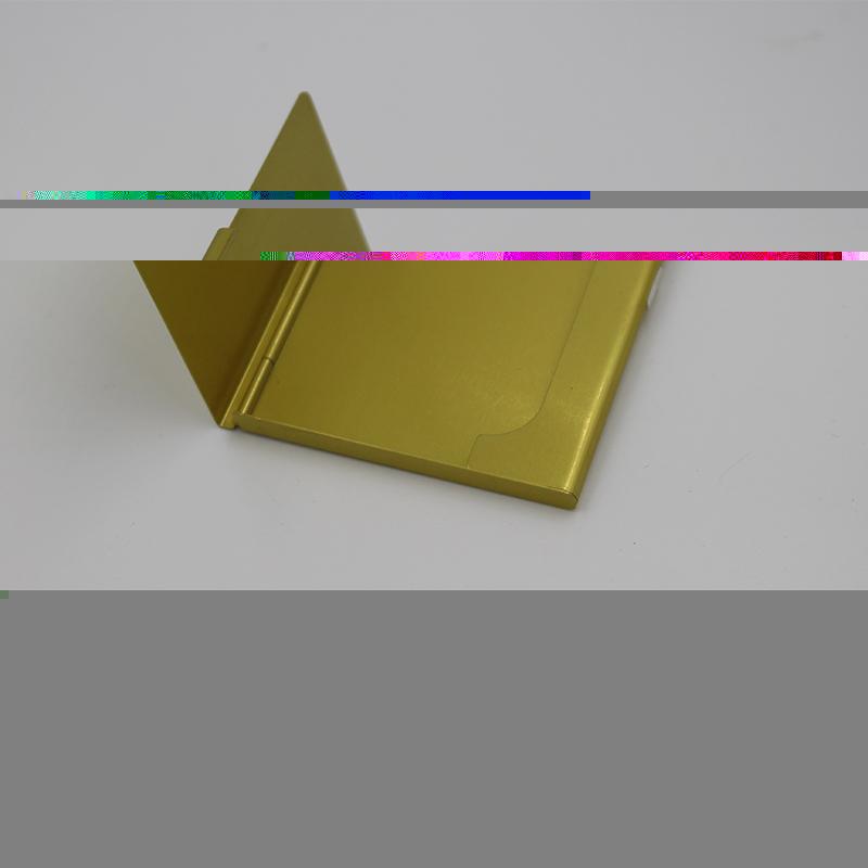 新品_東莞鋁合金金屬名片盒加工_弘登金屬