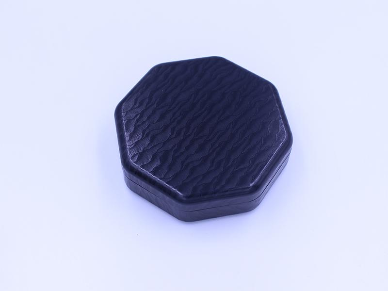 黑色浮雕花紋藥盒