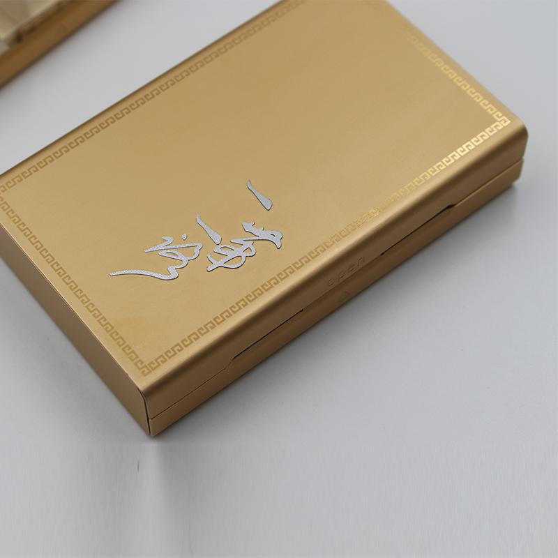 弘登金屬_個性DIY_可回收沉香鋁盒加工定制