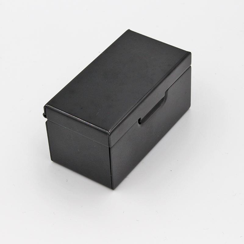 防塵美容霜包裝盒訂制_弘登金屬_印廣告內容_印圖案_圓形_耐摔