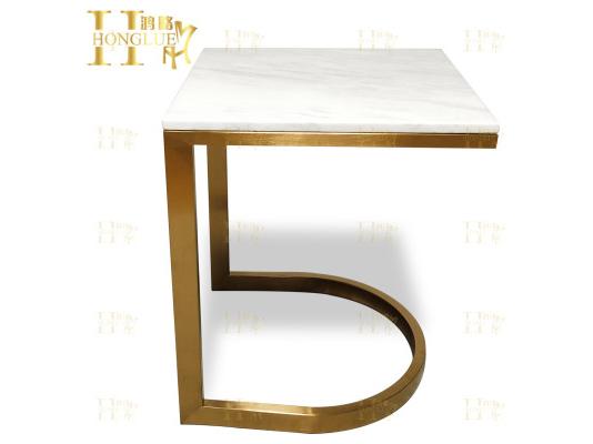 金属方形小茶桌