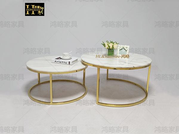 圆形客厅茶桌