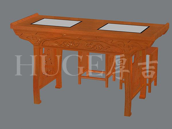 最新款式書法桌1米5 LED