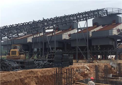 广州顺兴石场钢结构皮带廊