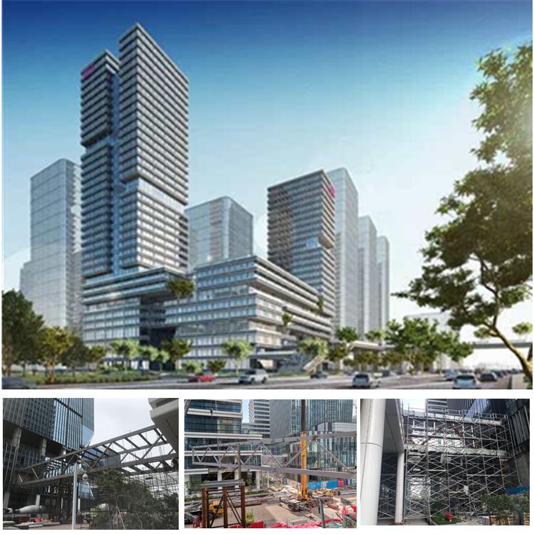 廣州唯品會總部大廈鋼結構項目