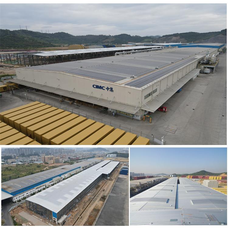 東莞南方中集鳳崗二期建設工程-混線廠房鋼結構/羽毛球館鋼結構