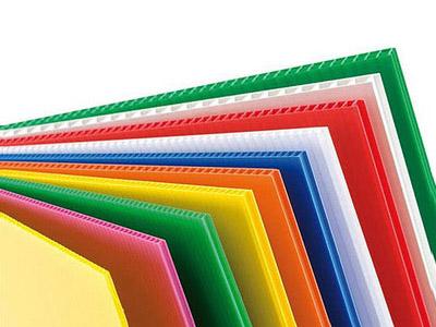 惠州童车中空板批发厂家 华君 塑胶 防静电pp 供应 UV印刷