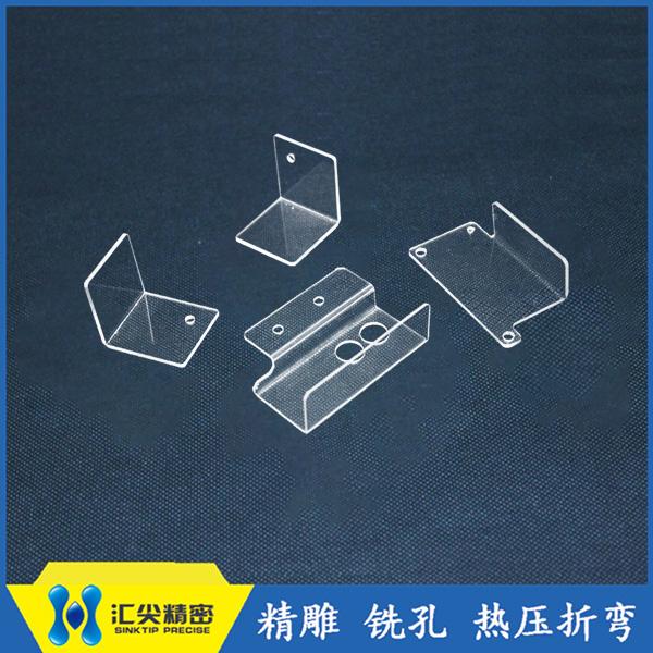 厂家供应多规格pc耐力板pc板pc加工片材折弯精雕
