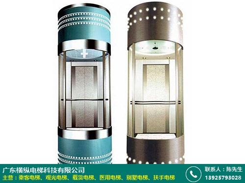 黃石小機房觀光電梯配件 三層 大廈 小型 室外 橫縱電梯