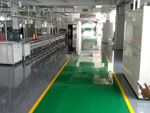 環氧防靜電平涂地坪生產