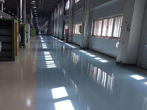 惠州防静电自流平地坪漆