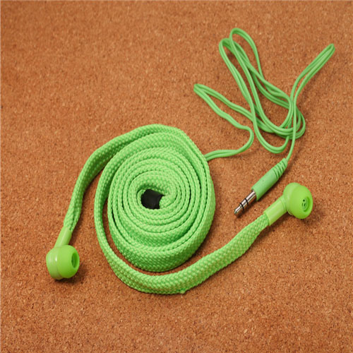 ilisten-绿色MP3鞋带耳机