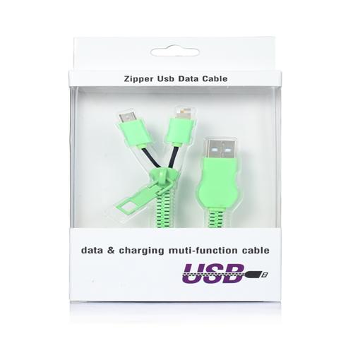 ilisten-塑胶套壳拉链数据线包装