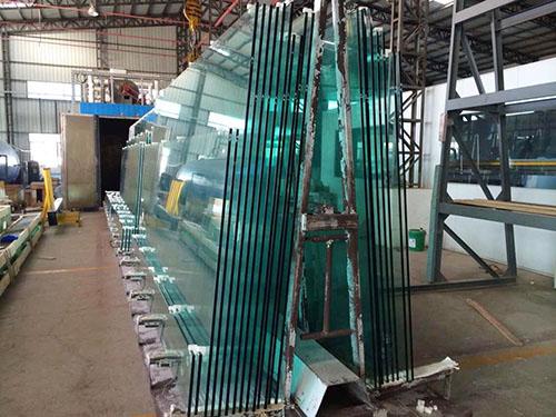 热浸钢化玻璃