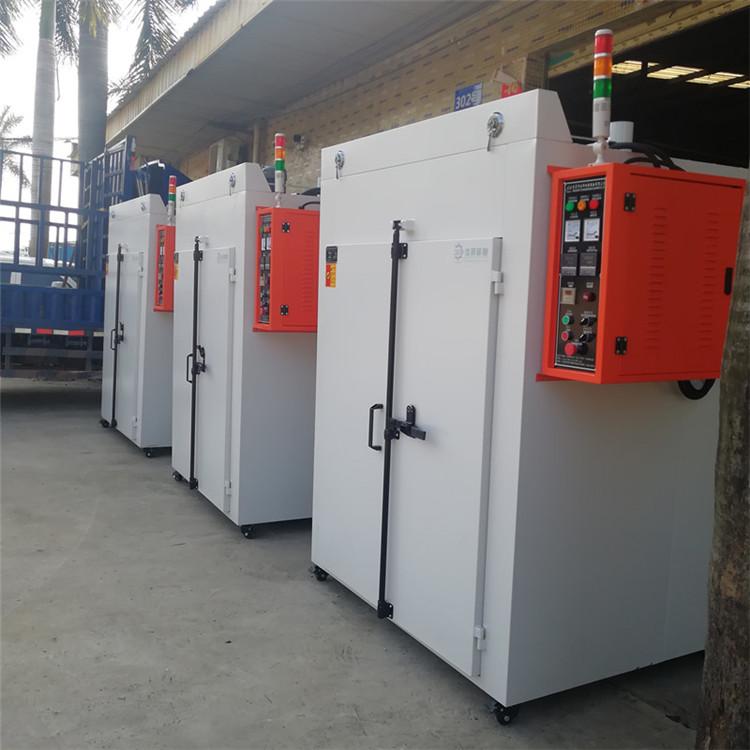 東莞廠家直銷雙門工業烤箱 掛桿式熱風循環烘房干燥設備