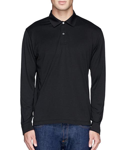长袖黑T恤