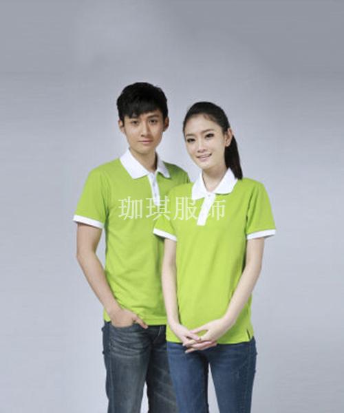 果绿色T恤