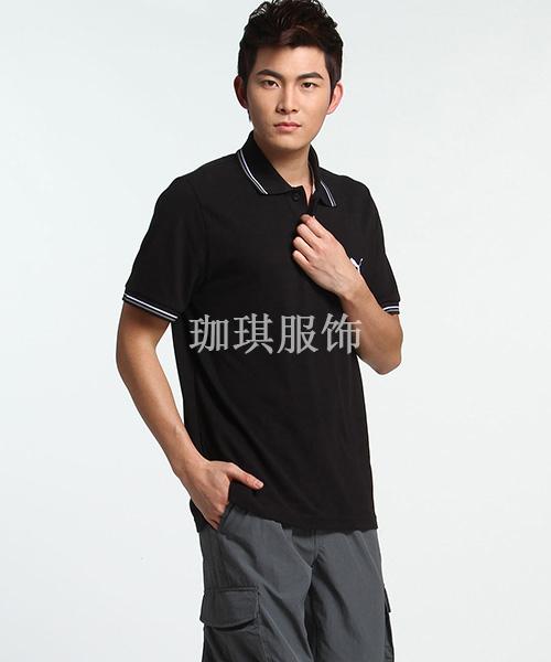有领纯棉T恤