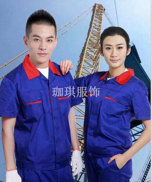 工厂衫套装生产
