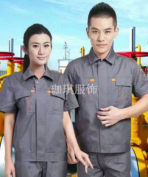 工厂短袖衫套装生产
