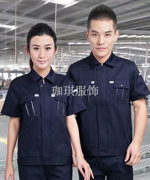 工厂短袖衫套装加工