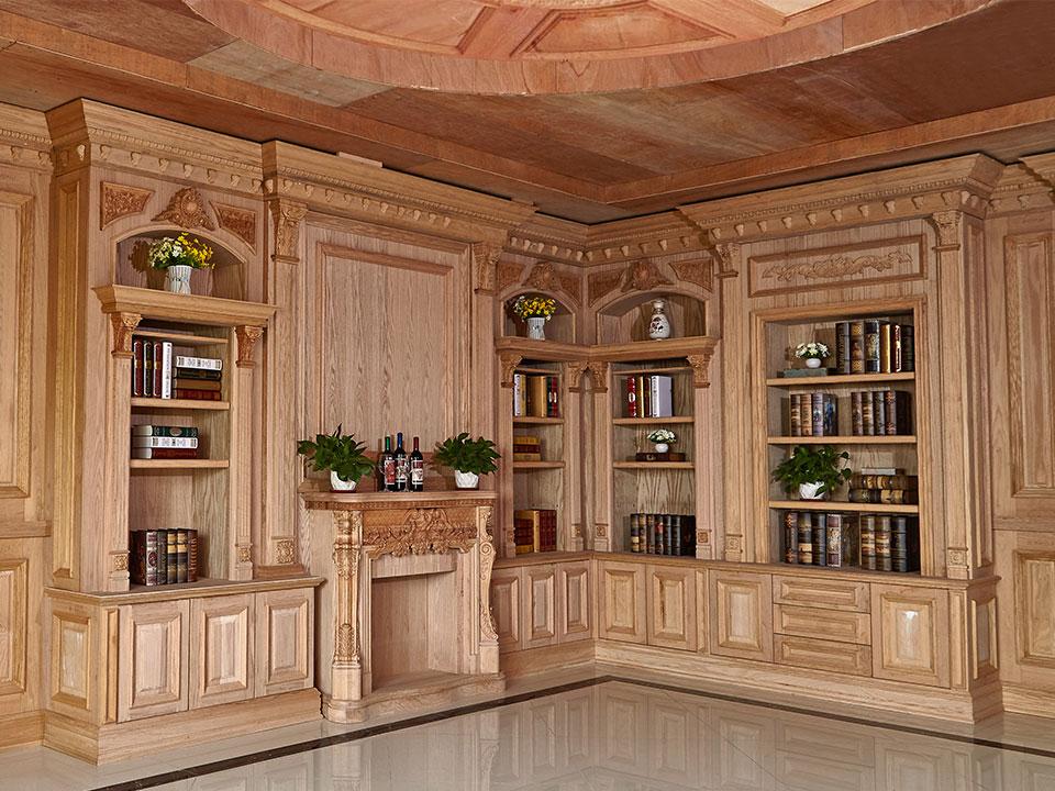 提供实木护墙板顶图片了解,找中式佳特橱柜厂家就找东莞市佳特家居