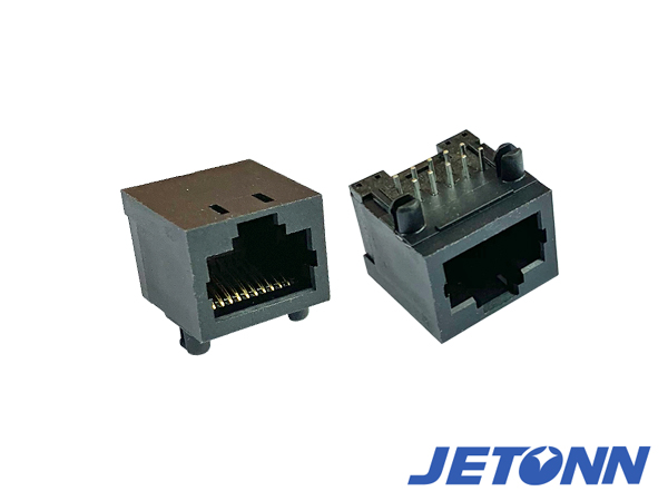 短體RJ45插座,90度短體RJ45網絡插座