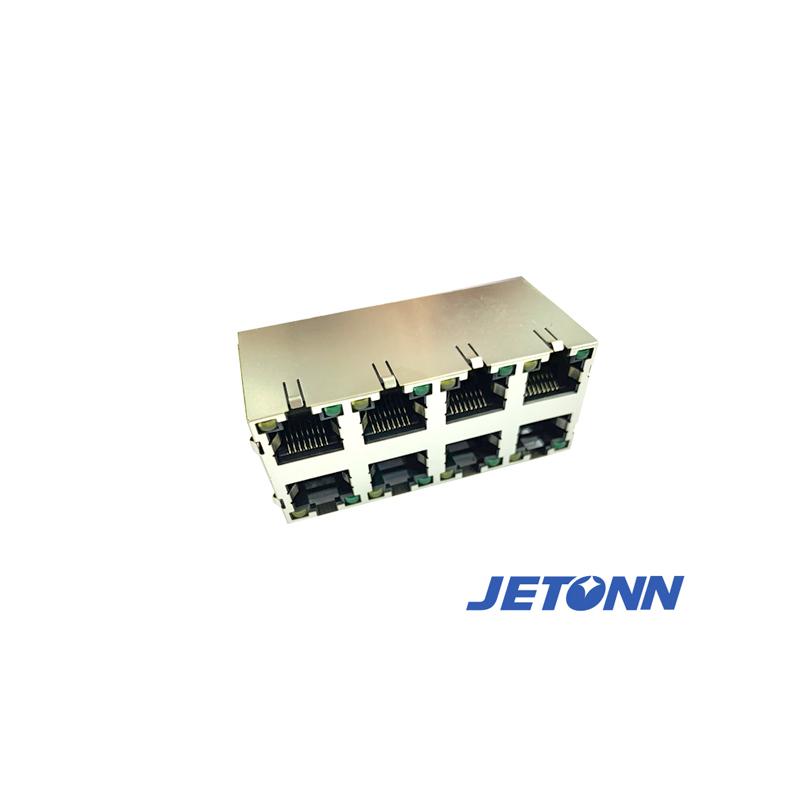 江西贴片RJ45接连器_捷通电子_直通RJ45_直插RJ45