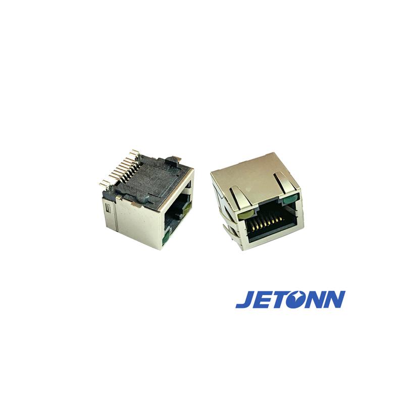 捷通电子_RJ网络_中山RJ45带灯插座厂家供应