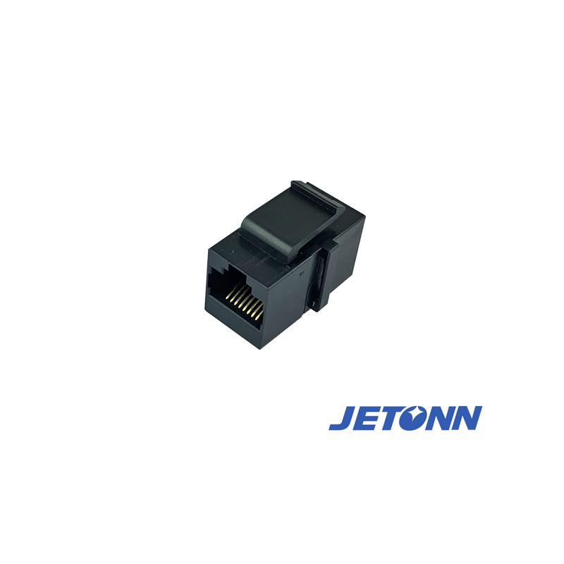 惠州RJ11转接头厂家_捷通电子_直通式网络_RJ11
