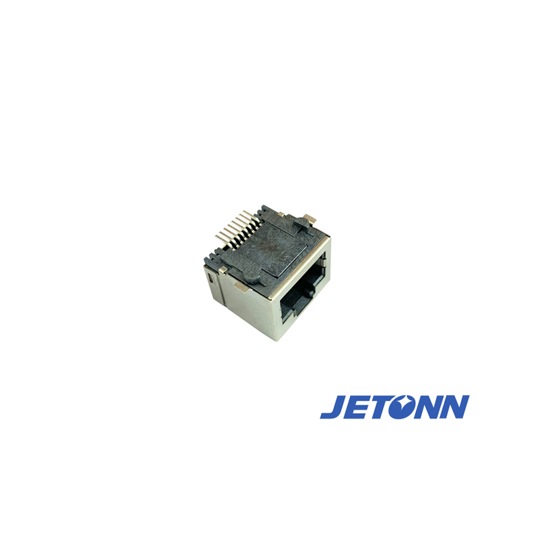 RJ45沉板_珠海2x2母座加工_捷通电子